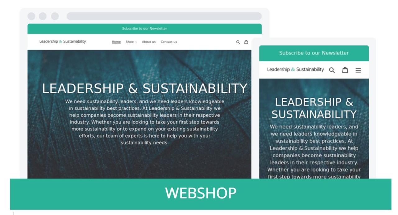 Webshop graphic