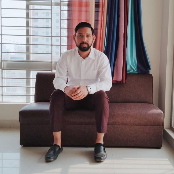 Portrait of Muhammad Zahid Osmani